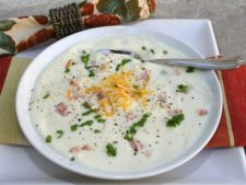Supa de conopida cu parmezan