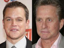 Michael Douglas si Matt Damon, parteneri intr-un film  pentru HBO
