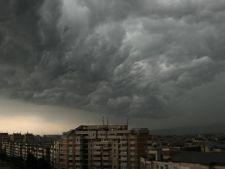 Furtuna puternica in Constanta