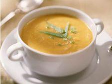 Supa cremoasa de cartofi cu mazare