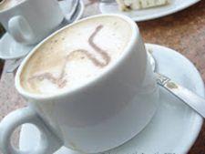 Bautura calda din cafea: latte aromat