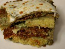 Lasagna cu pesto si mamaliga