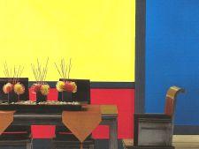 Accentele de culoare transforma radical un spatiu