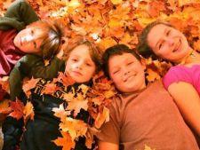 Frunzele uscate ale toamnei, 4 idei creative pentru copii
