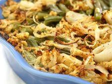 Reteta de post: fasole verde cu ceapa si ciuperci la cuptor