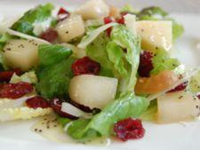 Salata cu branza elvetiana, fructe si mac