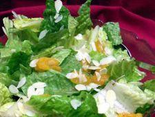 Reteta de post: salata verde cu portocale si migdale