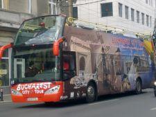 Autobuzele turistice din Bucuresti circula si iarna