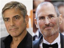 George Clooney l-ar putea interpreta pe Steve Jobs intr-un film biografic