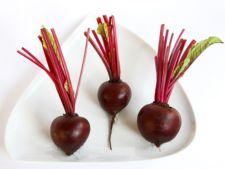 Beneficii ale consumului de sfecla rosie