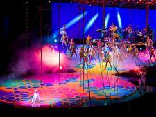 Cirque du Soleil vine in Romania