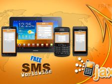 JaxtrSMS - trimite sms-uri gratuit catre orice numar mobil din lume