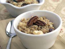 Reteta pentru mic dejun: orez cu cereale