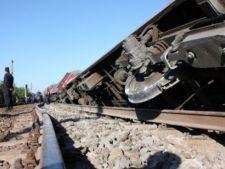 Tren deraiat la Bacau