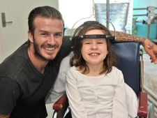 David Beckham a vizitat copiii bolnavi din Australia