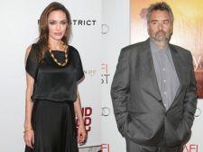 Angelina Jolie ar putea juca in viitorul film al lui Luc Besson