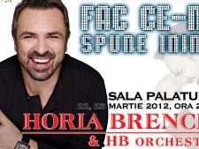 Horia Brenciu va sustine 2 concerte la Sala Palatului. Afla cat costa biletele!