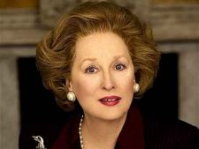 Meryl Streep o admira pe Margaret Thatcher