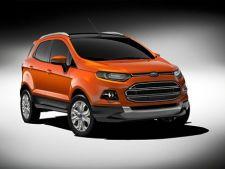 Ford EcoSport, concurent pentru Dacia Duster?