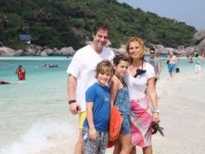 Andreea Esca, vacanta cu familia in Thailanda
