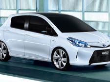 Toyota Yaris Hybrid - primele detalii