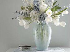 Aranjamente florale de iarna pentru dormitor