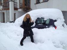 Andreea Banica, la schi in Austria