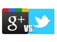 Razboi intre Google+ si Twitter?