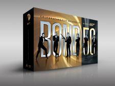 Toate filmele din seria James Bond vor fi lansate pe Blu-Ray