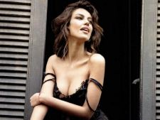 Modelul Madalina Ghenea a pozat sexy pentru italieni