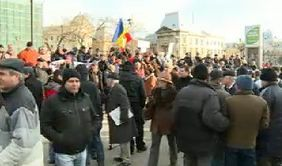 Romania, a patra zi de proteste