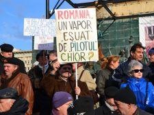 Romania protesteaza - mii de oameni isi cer drepturile