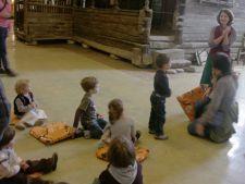 Programe de educatie creativa pentru copii la Muzeul Taranului Roman