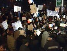 Protestatarii s-au intors unii impotriva celorlalti - scandal la Universitate