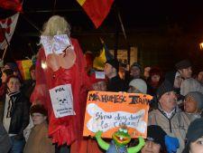 Trafic blocat de proteste in Bucuresti