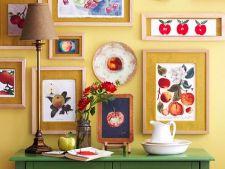 Solutii ingenioase pentru decorarea peretilor