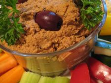 Hummus din rosii, chimen si naut