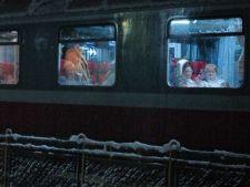 Studenti blocati in tren, timp de 26 de ore