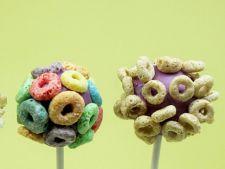 Reteta pentru copii: bomboane din cereale pe bat