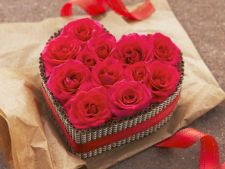 Targ de cadouri cu dragoste de Valentine''s Day