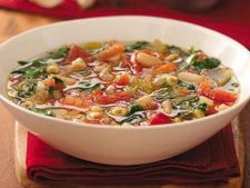 Supa de fasole cu paste