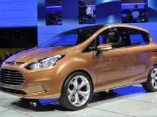 Ford B-Max va fi o masina economica. Va consuma doar 4 litri la suta de kilometri!