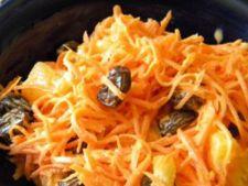 Salata de morcovi cu stafide