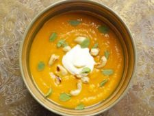 Supa de cartofi dulci cu naut