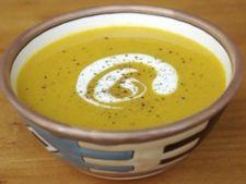Supa de dovleac copt