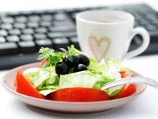 Alimentatia sanatoasa la serviciu