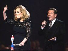 Adele a aratat degetul mijlociu la gala Brit Awards