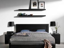 Cum sa decorezi un dormitor cu mobila neagra