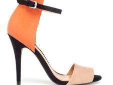 Sandale cu manseta inalta pe glezna pentru primavara 2012