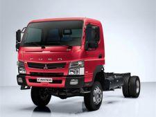Fuso a inceput productia variantei 4x4 a camionului Canter